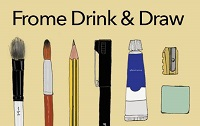 Frome Drink and Draw logo