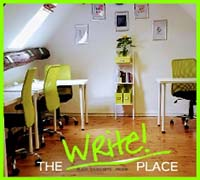 Image showing the write place office/ work space