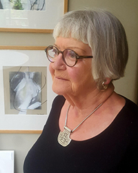 Sue Conrad, judge for Art Open 2018