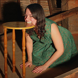 Video still from 'Tablemouth' by artist Katherine Fry