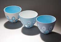 Ceramics by Sasha Wardell, 3 bowls