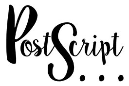 Postscript logo - stationers and art supplies