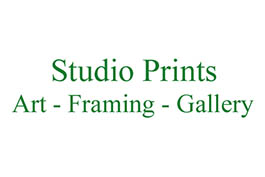 studio prints logo - art, framing, gallery