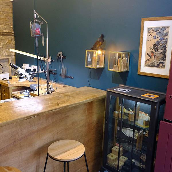 Image showing Dan's studio shop.